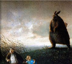 The Horror of Easter. German artist Michael Sowa's interpretation of Easter.