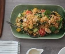 Warm Chicken, Pumpkin and Couscous Salad | Official Thermomix Recipe Community