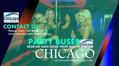 Experience Chicago From A Party Bus Rental on Wheels Party buses are the new big deal in the passenger transportation business, and it's very easy to see why. Party Bus Rental, Chartered Bus, Mode Of Transport, You Know Where, Party Venues, Limo, Free Quotes, Chicago, Buses