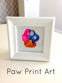 Paw Print Art. Pet M