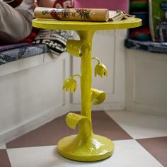 Little Petal-stal Table in Choice of Color from PoshTots