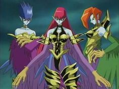 Yu-Gi-Oh The Harpie Lady Sisters! Mai's signature monster!!