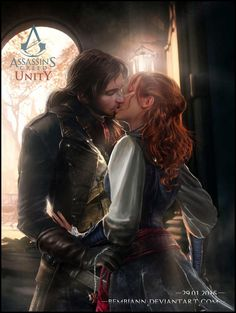 Arno and Elise (Assassin`s Creed Unity) by Bembiann.deviantart.com on @DeviantArt