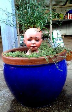 Repurpose doll head
