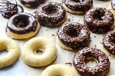 Banana Bread Nutella Donuts