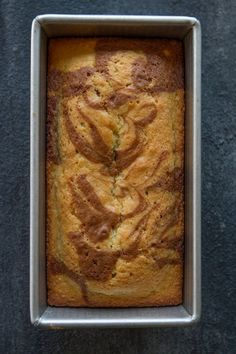 A sweet cakey loaf with a delicious cinnamon swirl baked until perfection and then dipped into lots of butter and coated with cinnamon and sugar! Cinnamon Swirl Cake, Cinnamon Muffins, Cinnamon Recipes, Cinnamon Bread, Bread Recipes, Cooking Recipes, Cake Recipes, Strudel, Dessert Bread