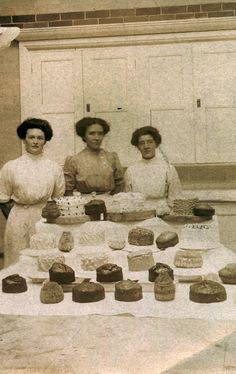 Edwardian cake stall or competition | Flickr - Photo Sharing!