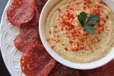 Salame chips -- perfect for holiday entertaining! Recipe via @Go Dairy Free #paleo #glutenfree #dairyfree