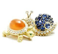 Anna Hu Jewelry......I love the snail!!!!