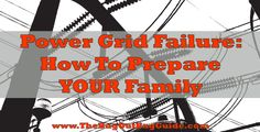 Learn how to handle sanitation and other basic needs in the event of a power outage. #prepping #selfsufficiency