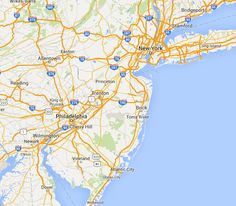 New Jersey State Atlas :: Journey to Work and Travel Visualization Tool