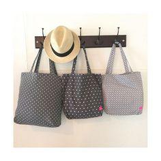 #23gobyflo #handmade #minimalism #minimal  #star  #lookforthestar #grayandwhite  #bag #summer #tote #totebag #simpleisbeautiful #lessismore  #forsale #handmadeinus #details, 3 fabrics, 3 sizes, 3 totebags.