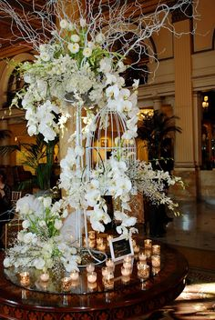 #Engaged2012 Recap: Lobby entrance at The Willard InterContinental Hotel by Greenworks Florist www.greenworksflorist.com - photo courtesy of www.updosforidos.blogspot.com