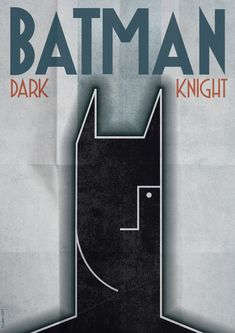 Art Deco Batman