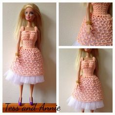 Tess and Annie: Free Crochet Pattern preview - Lorraine's Dance Dress