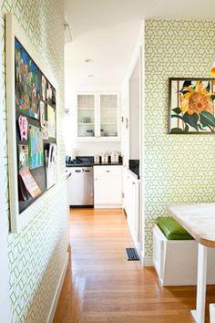 Kitchen Nook - contemporary - kitchen - San Francisco - Cristin Priest {Simplified Bee}  - HOUZZ