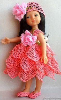 Crochet Doll Clothes, Knitted Dolls, Crochet Dolls, Crochet Hats, Baby Barbie, Baby Dolls, Clothes Crafts, Girls 4, Miniature Dolls