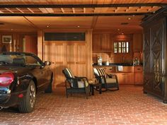 This garage is nicer than my living room.