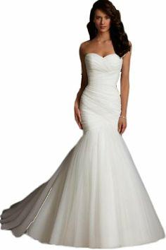New White Organza Mermaid Pleat Shawl Train Wedding Dress Prom Party Sex Gown Ailimisi,http://www.amazon.com/dp/B00F05SCL4/ref=cm_sw_r_pi_dp_pUN6sb10HZM9DXA2