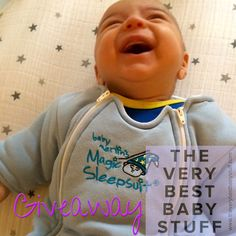 {GIVEAWAY} Enter to win a Baby Merlin's Magic Sleepsuit from www.theverybestbabystuff.com!