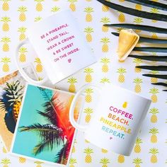 How do you take your coffee? We like ours with a splash of paradise. ☕️