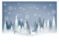 CHRISTMAS / Free vector Vector Christmas Winter Background