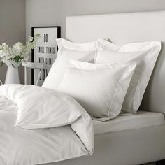 Somerton Bed Linen   The White Company