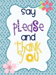 Cute posters to display in your classroom to remind students of their manners and your expectations for their behavior. ...