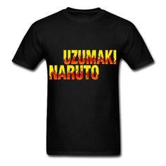Uzumaki Naruto Men's Standard T-Shirt