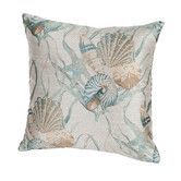 Found it at Wayfair - Coastal Sea Shells Indoor/Outdoor Throw Pillow