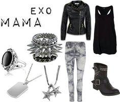 Exo mama outfit (women)