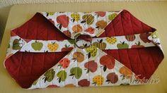 Fiz mais um porta-travessa, dessa vez com um passo-a-passo.   Foi o meu primeiro pap, não estranhem a qualidade das fotos. ;-)  Projeto: ... Quilt Block Patterns, Sewing Patterns, Felt Crafts, Diy Crafts, Diy Gifts To Make, Red And White Quilts, Sewing Class, Sewing Rooms, Fabric Bags