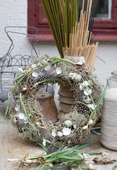 Happy Easter - contains broken bird eggs symbolizing birth of new life