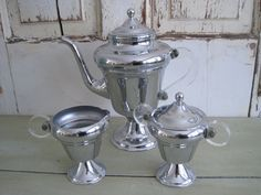 Hey, I found this really awesome Etsy listing at https://www.etsy.com/listing/221614075/1950s-art-deco-chrome-coffee-server-and