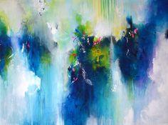 Arte abstracto original de XXL pintura moderna arte