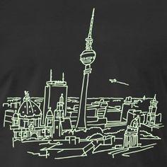 Panorama of Berlin (glows in dark)