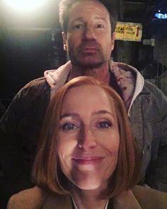 #XFiles #11thseason  Gillian's selfie. 25 years of friendship!