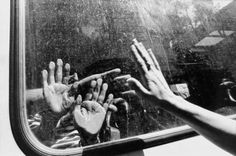 photo showcases one of the actions taken during the war between Serbia and Bosnia. captures a lot of emotion even though it seems simple. by Gilles Peress Evacuation of the Jews, Skanderia, Sarajevo, Bosnia