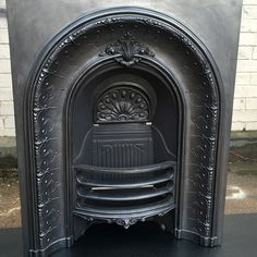 """INS313 - Arched Fireplace Insert (36""""H x 28""""W)"""