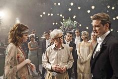 Woody Allen's Magic in the Moonlight, Emma Stone & Colin Firth. || This movie was just delightful! Really lovely, witty and beautiful!