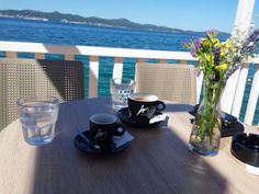 Predivno jutro u Zara-Beach uz MONTE kavu!!  #zarabeach #monte #uzivanje