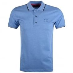 Paul & Shark Mid Blue Polo Shirt. Available now at www.brother2brother.co.uk
