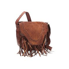 Women's SHARO Genuine Leather Bags Fringed Western Cross Body Bag ($144) ❤ liked on Polyvore featuring bags, handbags, shoulder bags, brown, cross body bags, leather shoulder bag, brown leather purse, leather shoulder handbags, brown crossbody purse and crossbody handbags