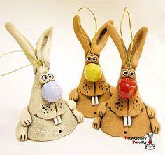 Мастер класс по созданию зайца из глины