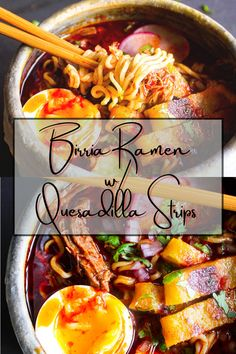 Beef Ramen Noodle Recipes, Beef Chuck Roast, Soft Boiled Eggs, Quesadilla, Tao, Great Recipes, Noodles, Soups, Spice