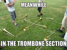 What is Trombone? Band Nerd, Band Mom, Marching Band Trombone, Marching Band Quotes, Music Jokes, Music Humor, Flute Problems, Band Jokes, Music Stuff