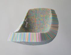 scott jarvie's clutch chair made of 10,000 drinking straws