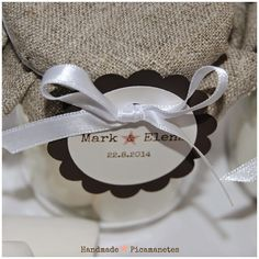 La boda del Mark i l'Elena (2): Els detalls per als convidats