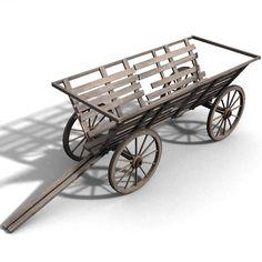 Cart 3D Model - 3D Model