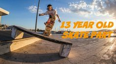 13 YEAR OLD SKATE PART - Alex Sitaras - http://dailyskatetube.com/switzerland/13-year-old-skate-part-alex-sitaras/ - Watch out for this kid!!! 13 YEAR OLD Alex Sitaras is going to be Pro soon!!! I met this kid in Greece... Subscribe HERE for weekly skateboarding videos: https://www.youtube.com/user/fabiandoerig?sub_confirmation=1 Alex Sitaras: https://www.youtube.com/channel/UCbtEkOPGOE3beIVyZ9KbjXw